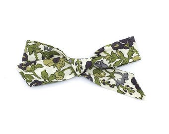 Meadow London Bow- RTS Hand Tied School Girl Bow. Clip or Headband.