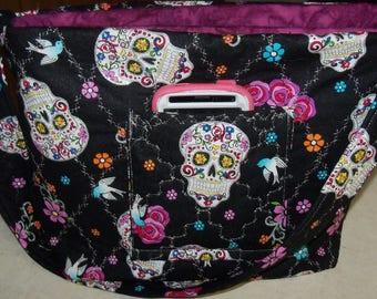 Day Of the Dead Handbag Tote Purse