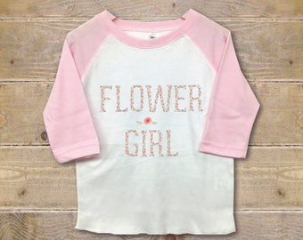 Flower Girl Shirt, Flower Girl Gift, Gift for Flower Girl, Wedding Party Shirts, Custom, Personalized, Rehearsal Shirt, Ask Flowergirl