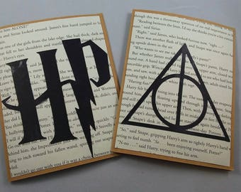Harry Potter Greeting Card, Invitation, Deathly Hallows Symbol