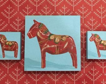 Dala Horse Painting