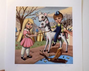Victorville Carnival - Signed Giclee Print