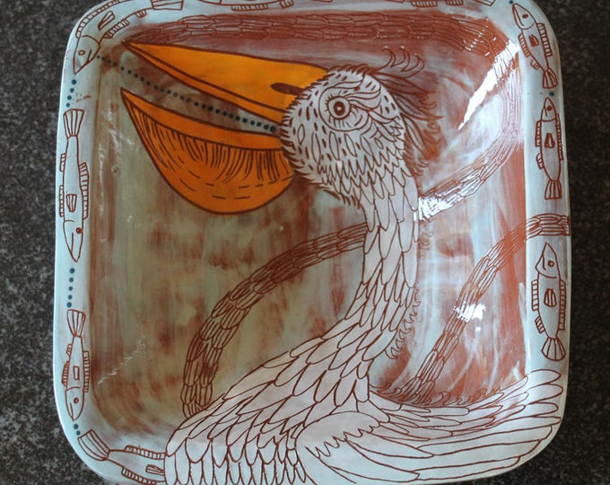Pelican square bowl