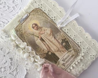 Virgin Mary, Devotional Journal, Catholic Prayer Book, Mothers Day Gift, Blessed Mother Gift, Mary Gift,  Catholic Gift