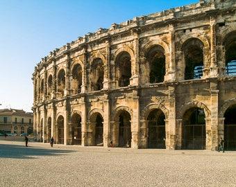 Roman Amplitheater Coliseum Nimes France-8x10-Color Fine Art Photo-Certificate of Authenticity-Signed by Artist