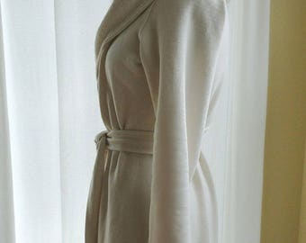 Optional inseam pocket(s) add-on to Econica's bathrobe