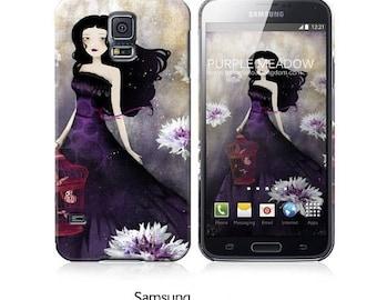 10% Off - Summer SALE Phone Case - Purple Meadow - iPhone 5 - iPhone 6 - Samsung Galaxy