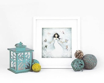 10% Off - Summer SALE Winter Wonderland - Deluxe Edition Print