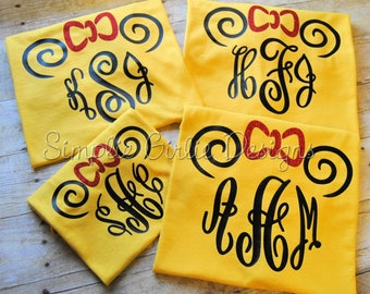 Custom vacation t-shirts Mouse ears Disney vacation shirts Personalized vacation shirts Matching family vacation shirts Monogrammed shirt