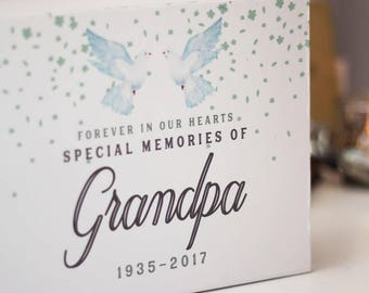 Personalised Memorial Keepsake Box - Sympathy Gift, Thinking Of You Gift, Condolence Gift, Bereavement Gift, Memorial Gift, Funeral Gift