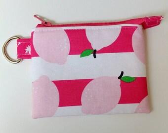 Mini Zipper Pouch in Simple Simon & Co. Fabric