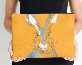 Summer Hare studio pouch large
