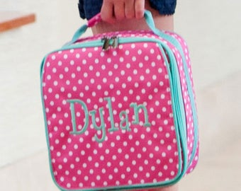 Personalized Monogrammed Lunch Bag Lunch box Boys/Girls