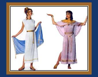 Vintage 1996- HISTORICAL COSTUME COLLECTION-Adult Sewing Pattern-Greek Goddess-Roman Senator-Hercules-Cleopatra-Flapper-Scarecrow-Uncut-Rare