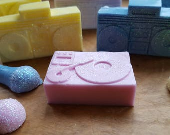 Hip Hop DJ Soap - Music - Kids soap - Novelty Soap - Radio - Karaoke - Fun Soap