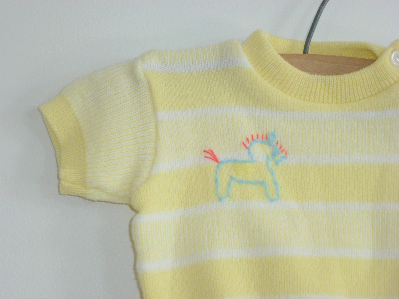 Vintage Yellow Sweater Set [E10190947033214197M] - $12.25 ...