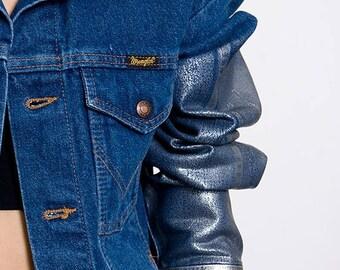 40% SUMMER SALE The Wrangler Corduroy Collar Foiled Sleeved Jacket