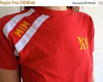 "40% SUMMER SALE Red ""Sorority"" 50/50 Shirt"