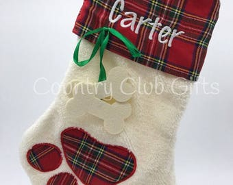 Pet Christmas stockings personalized Christmas stocking, embroidered stockings, Christmas, holiday, pets, kitty, dog, puppy, cat