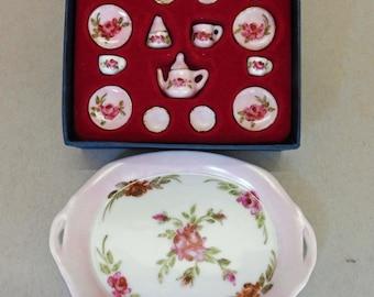Miniature Doll Tea Set