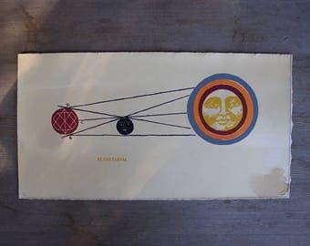 Planetarvm - Alchemical print