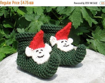 40% OFF SALE Instant Digital File PDF Download Baby Pixie Boots pdf download knitting pattern