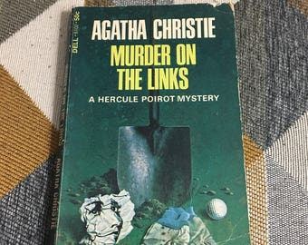 Vintage Agatha Christie Murder on the Links 1967 Paperback Book