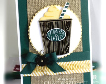 Thank You Card- Stampin' Up Thanks a Latte
