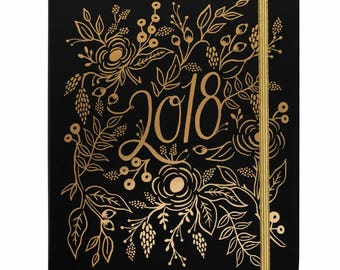 2018 Floral Foil Everyday 17 Month Planner by Rifle Paper Co