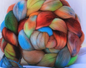 Hand painted/dyed fine merino (4.1 oz- 115 grams) #150