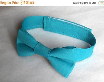 SALE Teal Bowtie - Infant, Toddler, Boys - 4 weeks BEFORE SHIPMENT