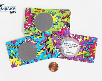 Scratch Off LifeSpirations (25 Cards) - 80s Themed Inspirational Motivational Quotes