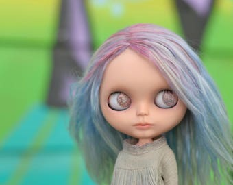 Custom Blythe Dolls For Sale by Pastel, a OOAK customized Blythe doll by Rachel K
