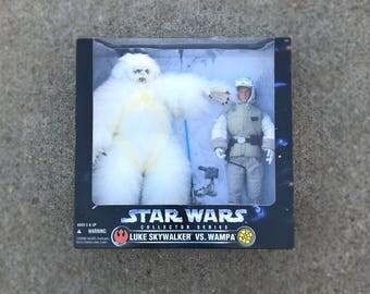 "Star Wars Figures, Luke Skywalker and Wampa, Empire Strikes Back, 12"" Star Wars Doll, Star Wars Gift for Boyfriend, Last Jedi, Kids Toy"