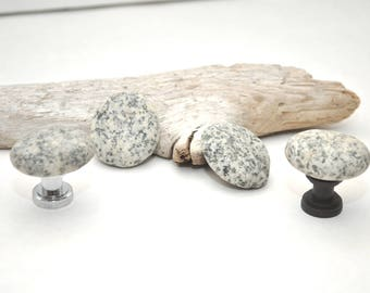 Beach Rock Cabinet Knobs - Choose Your Hardware