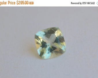SPECIAL Green Beryl Cushion Cut from Madagascar 10mm For Pendant or Ring