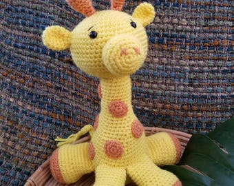 Jeremy the Giraffe, Amigurumi Toy