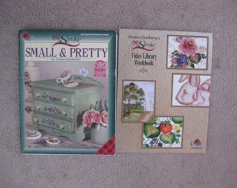 Two Donna Dewberry Painting Directions Booklets