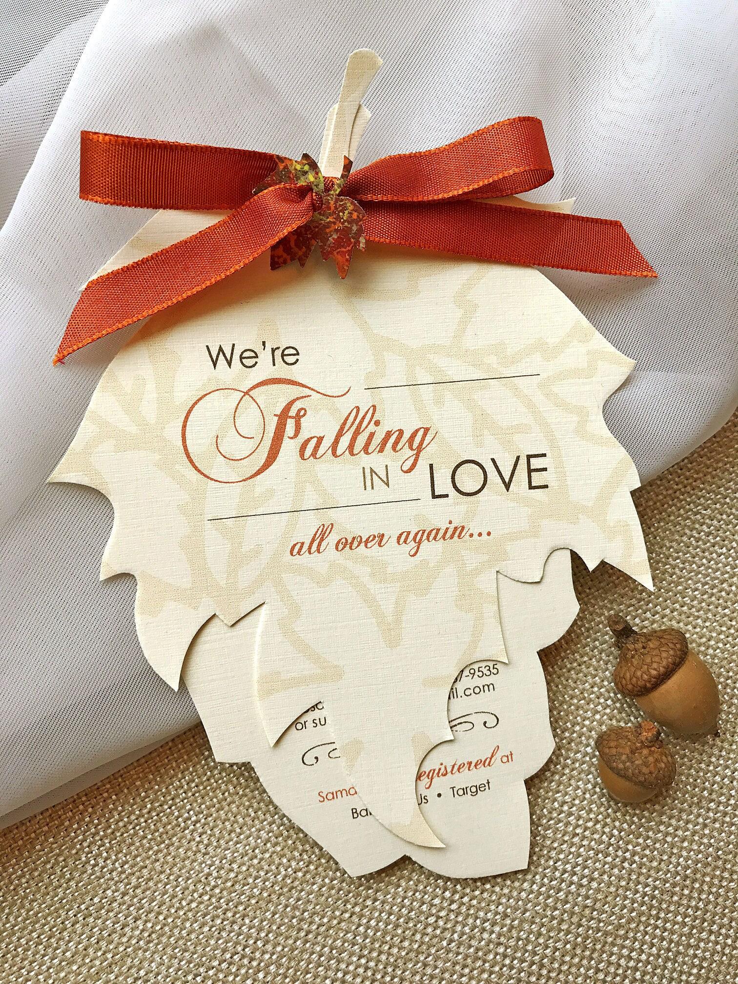 Amazing Fall In Love Wedding Favors | Wedding