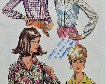 Blouse Sewing Pattern UNCUT Simplicity 6526 Size 40 plus size