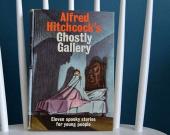 Vintage 1962 Alfred Hitchcock's Ghostly Gallery Children's Book