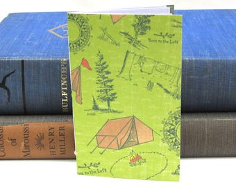 Small Camping Notebook / Journal / Sketchbook