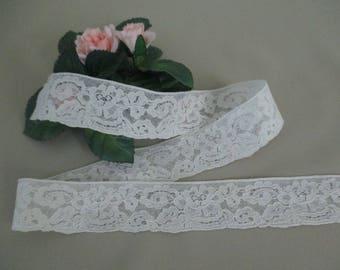Vintage Lace Trim Antique Lace Trim Cotton White