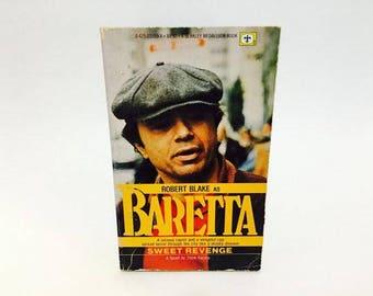Vintage Pop Culture Book Baretta: Sweet Revenge TV Series Novelization 1977 Paperback