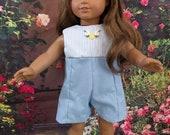 Sweet Summer Culotte fits 18 Inch Dolls