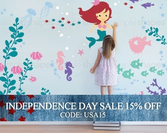 Independence Day Sale - Under the Sea Wall Decal Collection