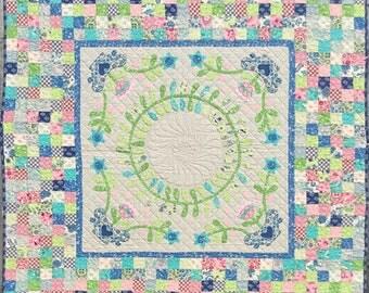 Mosaic Bloom Quilt Pattern