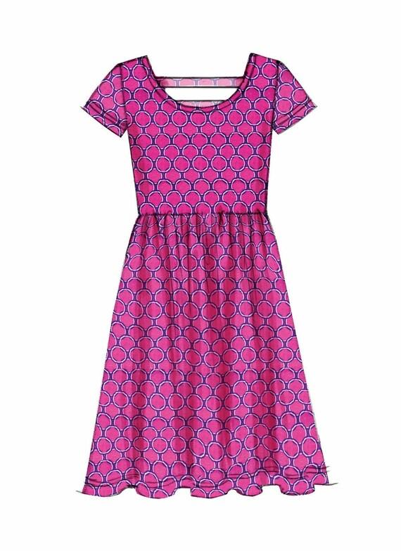 Tween Girls Pullover Dress Pattern Tween Girls Knit