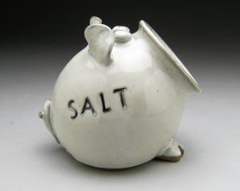 Ceramic Salt Pig - Salt Cellar - Made to Order