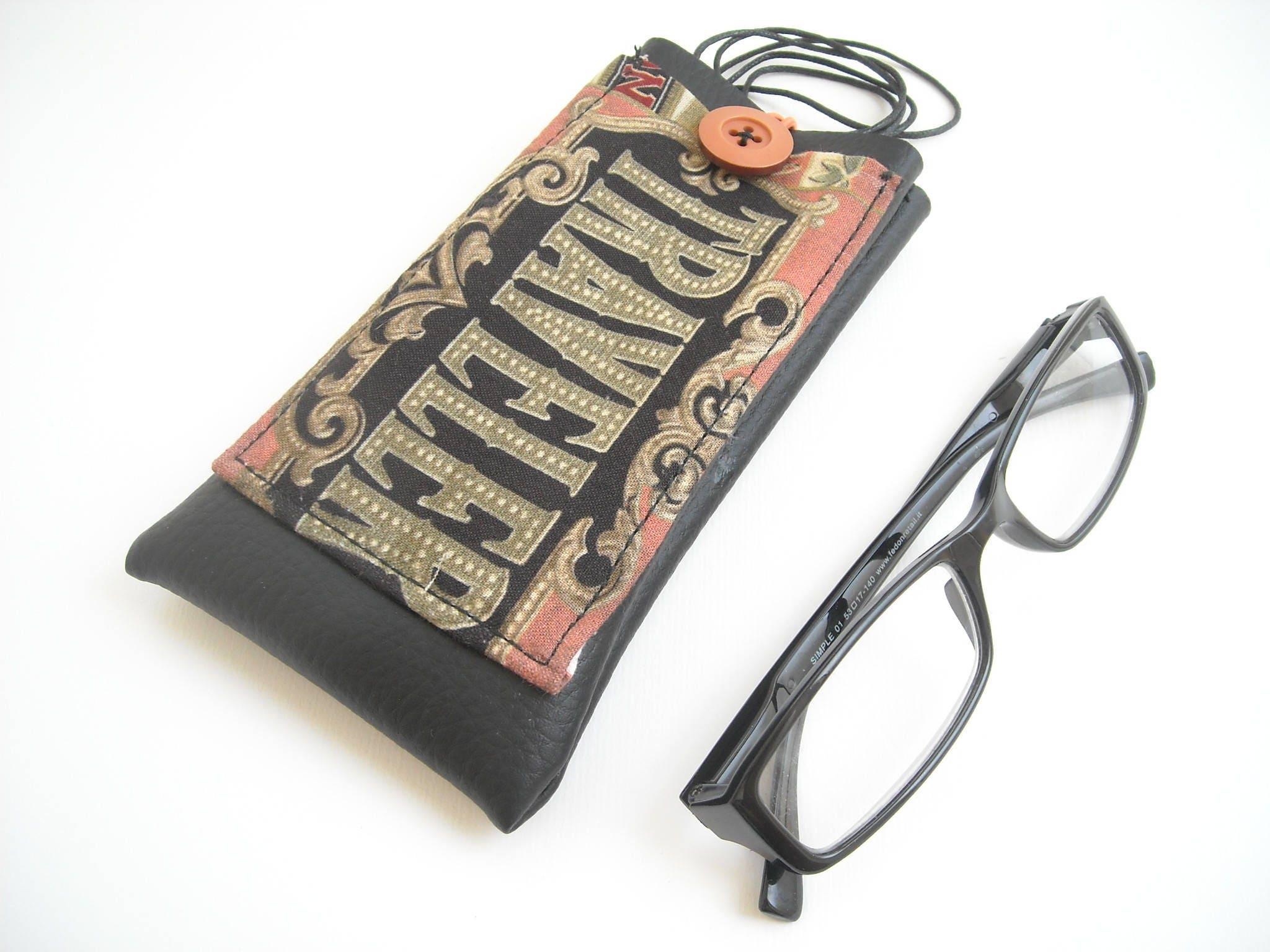Traveller portaocchiali da collo con tasca custodia occhiali - Si porta al collo ...